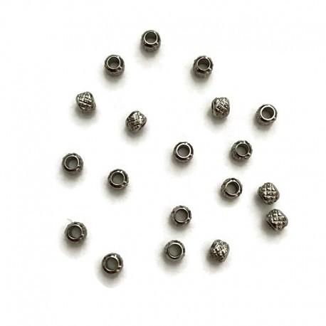 Przekładka ozdobna 3x2,5mm stal nierdzewna 10szt.
