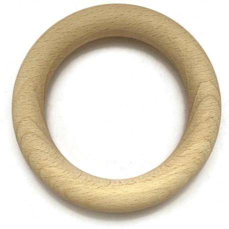 Drewniane kółko do makramy  85mm