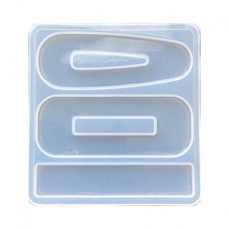 Forma do żywicy forma silikonowa do odlewów 75x70mm baza spinek
