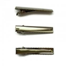 Baza spinki 46x8mm srebrna