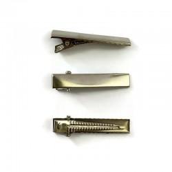 Baza spinki 34x7mm srebrna