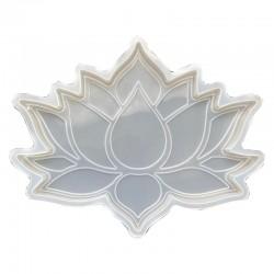 Forma do żywicy forma silikonowa do odlewów 127x160 kwiat lotosu