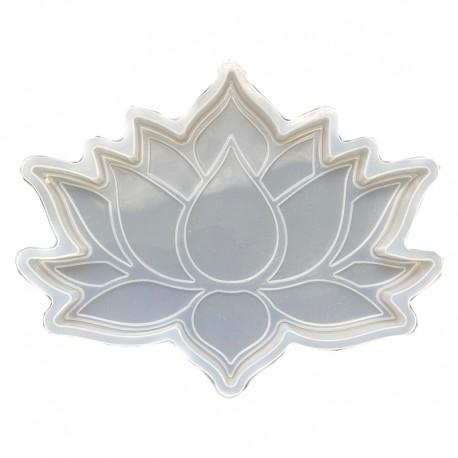 Forma do żywicy forma silikonowa do odlewów 147x127x160 kwiat lotosu