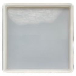 Forma do żywicy forma silikonowa do odlewów 138x138mm kwadrat