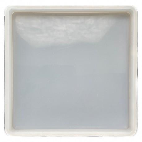 Forma do żywicy forma silikonowa do odlewów 138x128 kwadrat