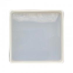Forma do żywicy forma silikonowa do odlewów 84x84mm kwadrat
