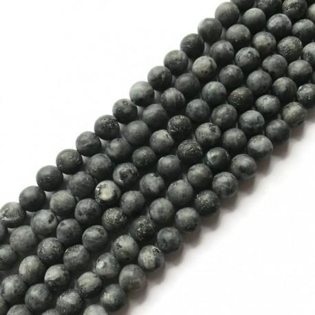 Larvikit kulka matowa 8mm sznurek