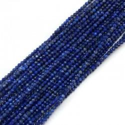 Lapis Lazuli kulka fasetowana 2mm sznurek