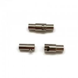 Zapięcie magnetyczne 18x6mm stal nierdzewna 4mm