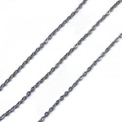 Łańcuszek 2x1,5x0,4mm stal nierdzewna