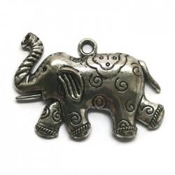 Zawieszka słoń 57mm cyna