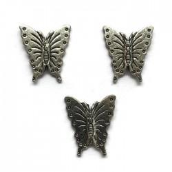 Przekładka ozdobna motylek 20x17mm cyna