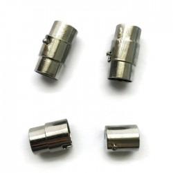 Zapięcie magnetyczne 18x10mm Cyna