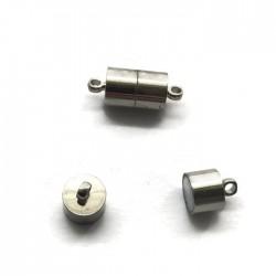 Zapięcie magnetyczne podłużne 11x7mm Cyna