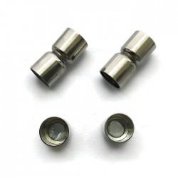 Zapięcie magnetyczne 16x7mm Cyna