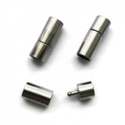 Zapięcie silikonowe 22x8mm Cyna