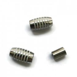 Zapięcie magnetyczne 17x10mm Cyna