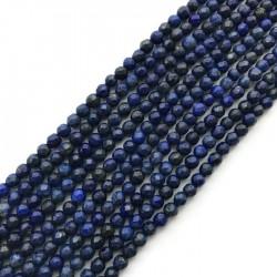 Lapis Lazuli kulka 4mm sznurek