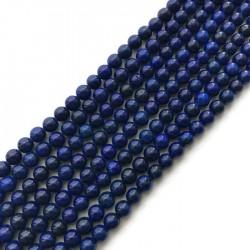 Lapis lazuli kulka 6mm sznurek