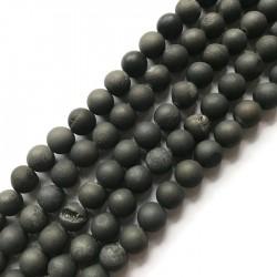 Agat druza kulka 10mm sznurek