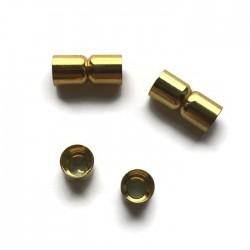 Zapięcie magnetyczne 20x8mm Cyna