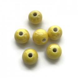 Kulka ceramiczna 10mm żółty