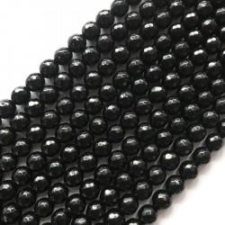 Jadeit kulka 10mm czarny
