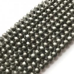 Kwarc kulka 10mm srebrny sznurek
