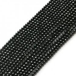 Hematyt kulka 4mm grafit sznurek