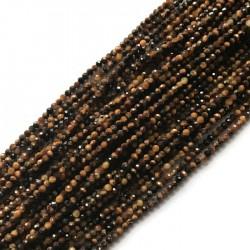 Tygrysie oko kulka 2mm sznurek