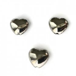 Przekładka serce 14x13mm akryl