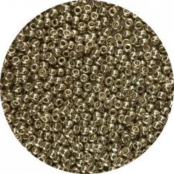 TOHO - Round 11/0 : TR-11-558 Galvanized Aluminum