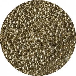 TOHO - Round 11/0 : TR-11-PF558 Permafinish – Galvanized Aluminium