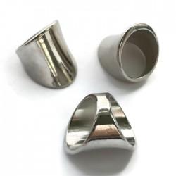 Przekładka gładka pierścień 28x22mm akryl