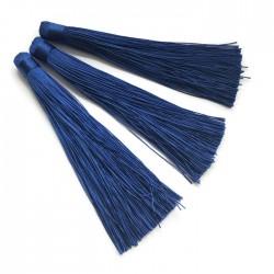 Chwosty frędzle z wiskozy 120mm ciemny niebieski