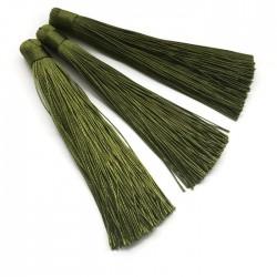 Chwosty frędzle z wiskozy 120mm zielone