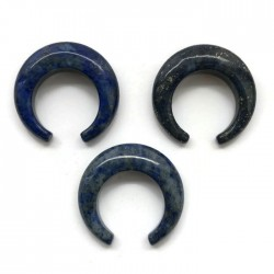 Lapis lazuli księżyc 27x26x6mm