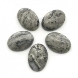 Agat kaboszon 18x13x5mm kamień do soutache i haftu