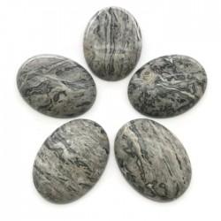 Agat kaboszon 40x30x8mm kamień do soutache i haftu