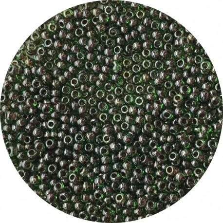TOHO - Round 11/0 : TR-11-250 Inside-Color Peridot/Fuchsia-Lined