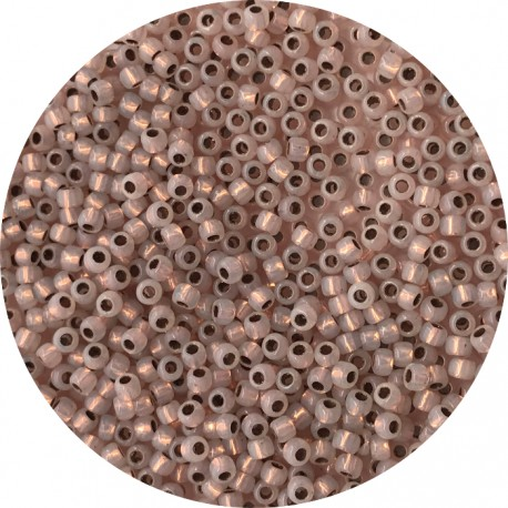 TOHO - Round 11/0 : TR-11-741 Copper Lined Alabaster