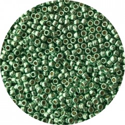 TOHO - Round 11/0 :  TR-11-PF569 Permanent Finish-Galvanized Mint Green