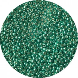 TOHO - Round 11/0 :  TR-11-PF561 Permanent Finish-Galvanize Green Teal