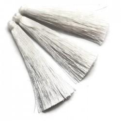 Chwosty frędzle z wiskozy 65mm białe