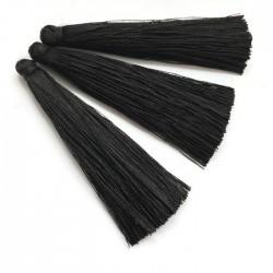 Chwosty frędzle z wiskozy 65mm czarne