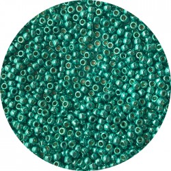 TOHO - Round 11/0 :  TR-11-PF569 Permanent Finish-Galvanized Teal