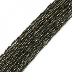 Piryt kulka 2mm sznurek
