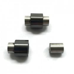 Zapięcie magnetyczne do wklejania 16x10mm stal nierdzewna