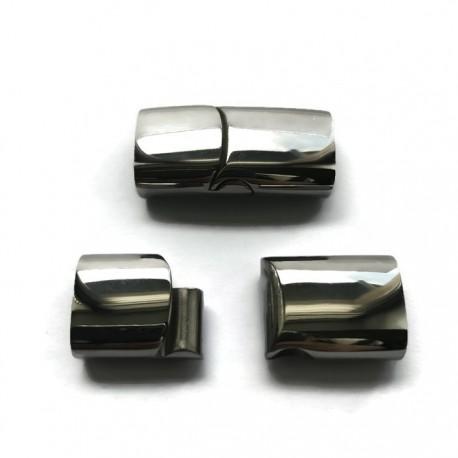 Zapięcie magnetyczne wsuwane bokiem 30x15mm stal nierdzewna