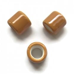 Przekładka ceramiczna walec 17x15mm miodowy